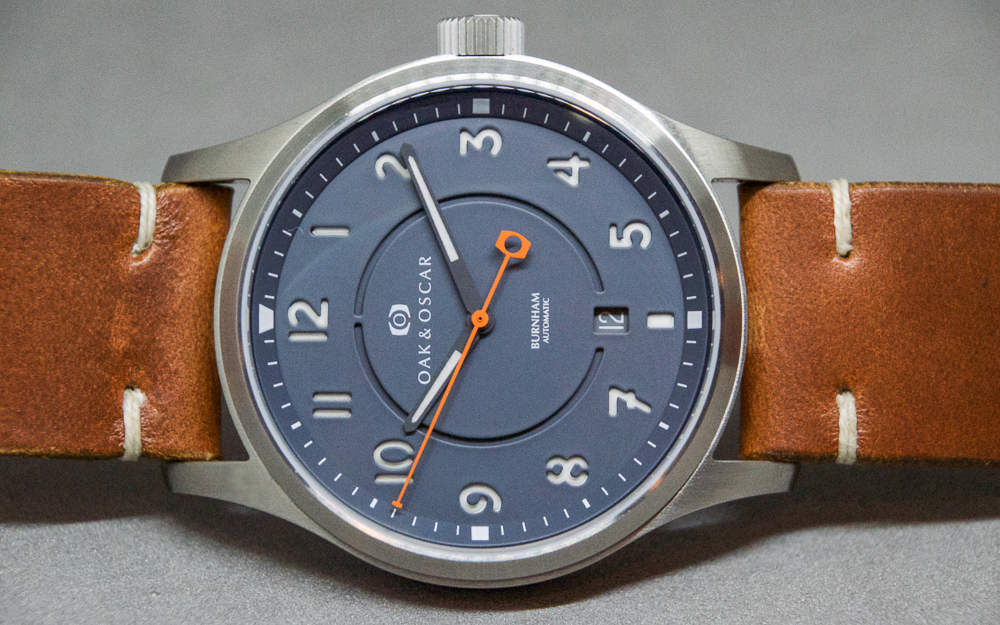 Hands on with the oak oscar burnham wound for lifewound for life for Oak oscar watches